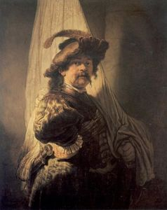 Rembrandt Van Rijn - The Standard-Bearer