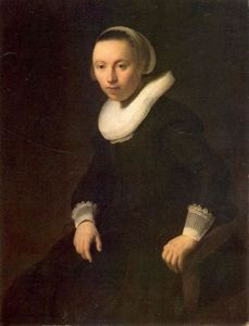 Rembrandt Van Rijn - Young Woman in a Chair