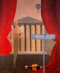 Rene Magritte - Blue cinema