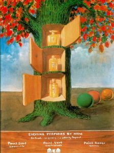 Rene Magritte - Exciting perfumes by Mem