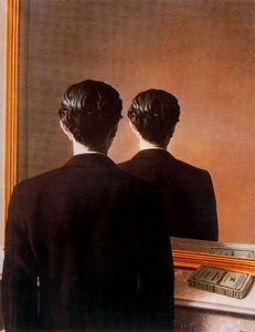 Rene Magritte - Prohibited Reproduction (Portrait of Edward James)