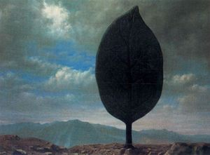 Rene Magritte - The air plane