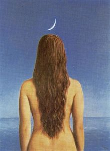 Rene Magritte - The Evening Dress