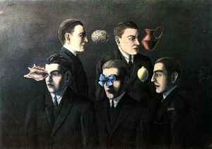 Rene Magritte - The familiar objects