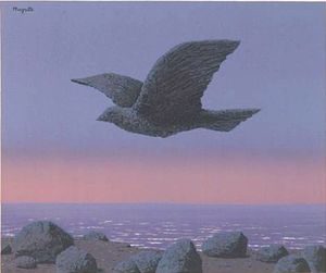 Rene Magritte - The idol