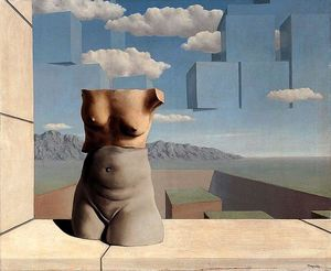 Rene Magritte - The March of Summer
