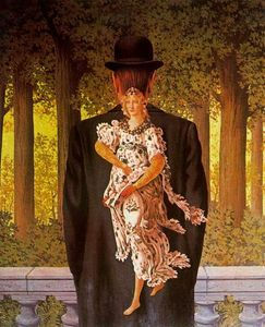 Rene Magritte - The perfect bouquet