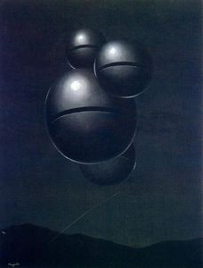 Rene Magritte - The Voice of Space (La Voix des airs)