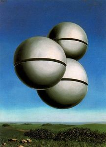 Rene Magritte - The voice of the air