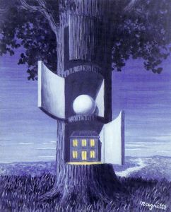 Rene Magritte - The voice of the blood 1