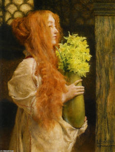 Lawrence Alma-Tadema - Spring Flowers