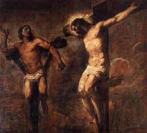 Tiziano Vecellio (Titian) - Christ and the Good Thief