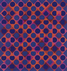 Victor Vasarely - Abstract 11