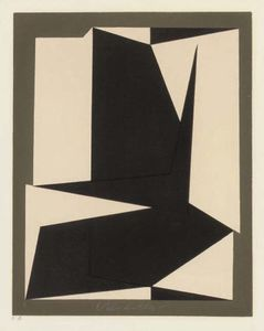 Victor Vasarely - Abstract 7
