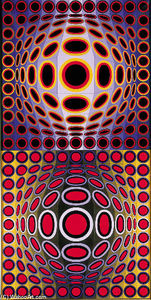 Victor Vasarely - Chark-11