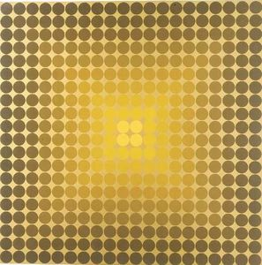 Victor Vasarely - Composition 9