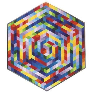Victor Vasarely - Hat-A