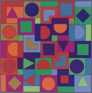 Victor Vasarely - MC-MC pan
