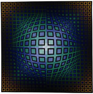Victor Vasarely - Struck