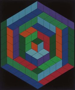 Victor Vasarely - Tannis