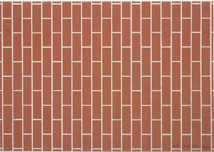 Victor Vasarely - Untitled (Mur de brique)