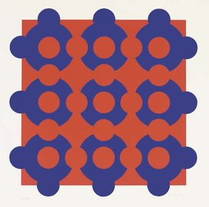 Victor Vasarely - Untitled 16