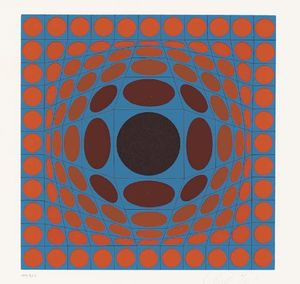 Victor Vasarely - Untitled 23