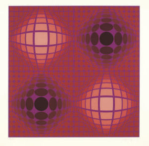 Victor Vasarely - Untitled 6
