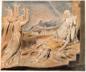 William Blake - Job´s comforters