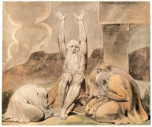 William Blake - Job´s despair
