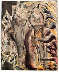 William Blake - Job´s evil dreams
