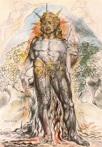 William Blake - The course of human history personified