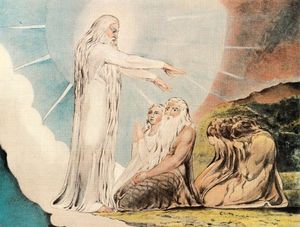 William Blake - The vision of Christ 1