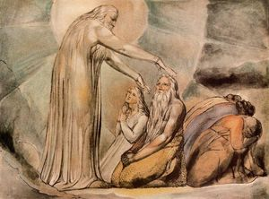 William Blake - The vision of Christ