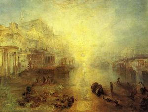William Turner - Ancient Italy ­ Ovid Banished from Rome