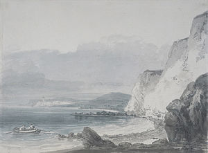 William Turner - Beachy Head Looking towards Newhaven
