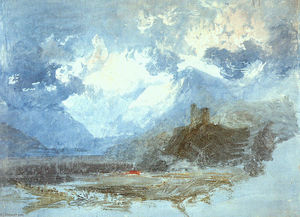 William Turner - Dolbadern Castle