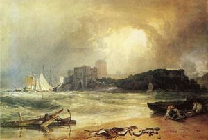 William Turner - Pembroke Caselt, South Wales. Thunder Storm Approaching