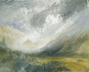 William Turner - Sion, Capital of the Canton Valais