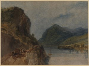 William Turner - The Drachenfels