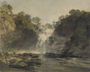 William Turner - The Falls of Clyde