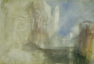 William Turner - The Grand Canal by the Salute, Venice