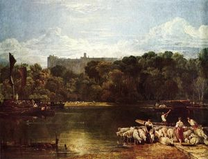 William Turner - Windsor Castle from the Thames