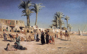 Peder Mork Monsted - In the outskirts of Cairo