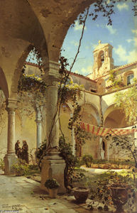 Peder Mork Monsted - The Cloister, Taormina