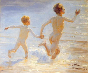 Peder Severin Kroyer - Playa de Skagen 1