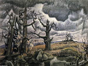 Charles Ephraim Burchfield - An April Mood