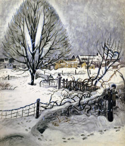 Charles Ephraim Burchfield - Day In Midwinter