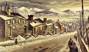 Charles Ephraim Burchfield - End Of The Day 1