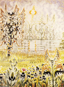 Charles Ephraim Burchfield - Fantasy Of Heat
